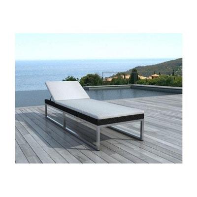 Chaise longue jardin design | La Redoute