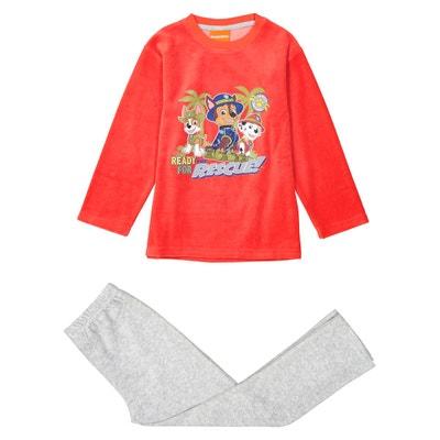 6b7dc15899476 Pyjama velours 2-8 ans Pyjama velours 2-8 ans PAT PATROUILLE