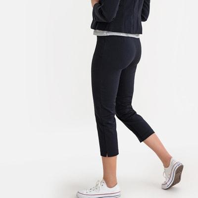 Pantalon droit taille haute longueur 7/8 è Pantalon droit taille haute longueur 7/8 è LA REDOUTE COLLECTIONS