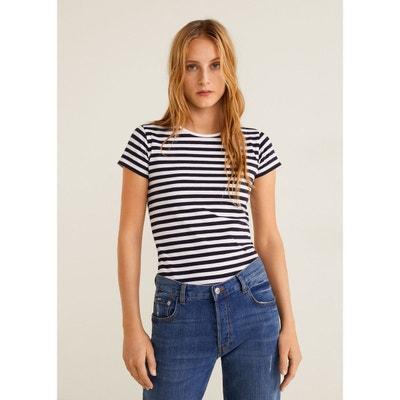 d7eeffb65305d T-shirt basique en coton T-shirt basique en coton MANGO