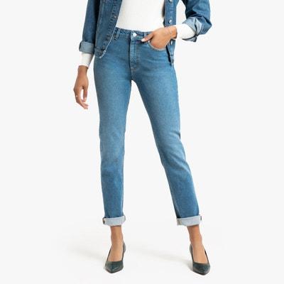 Jeans droit ely bleu moyen Violeta By Mango | La Redoute