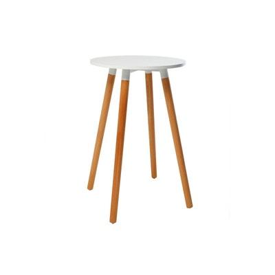 Table ronde blanche   La Redoute