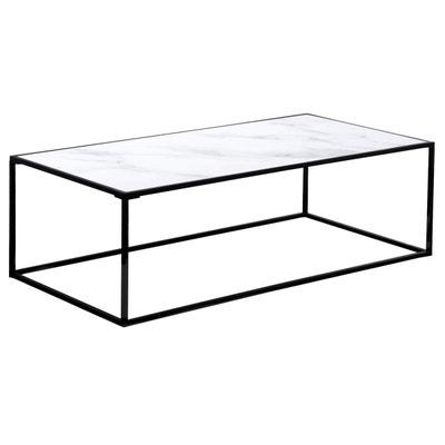 Table basse rectangulaire Komis en verre et céramique Table basse  rectangulaire Komis en verre et céramique cf65b35ae42c