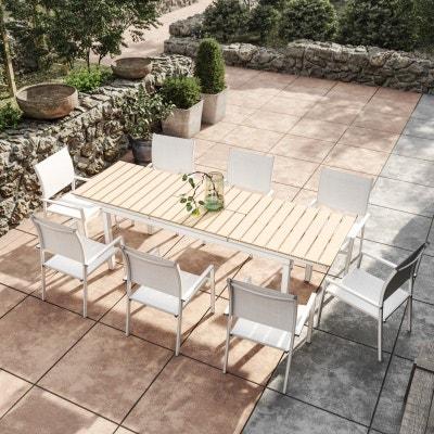 Ensemble Table Chaise De Jardin La Redoute
