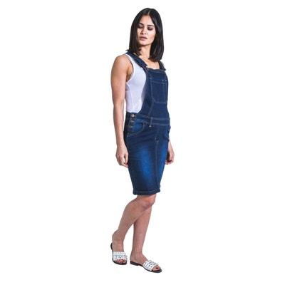 design intemporel 591ec adbef Robe salopette jean femme   La Redoute