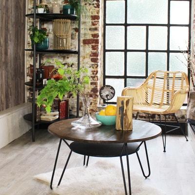 Meuble salon bois clair   La Redoute