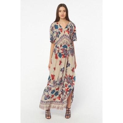 01090c232c9 Robe longue à imprimés colorés Robe longue à imprimés colorés BEST MOUNTAIN