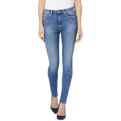 ed00b614af Jean skinny taille haute REGENT PEPE JEANS