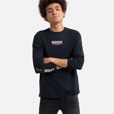 T shirt manche longue ado 16 ans   La Redoute