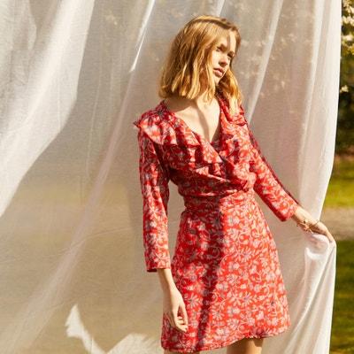 Korte, bedrukte jurk Korte, bedrukte jurk COMPANIA FANTASTICA