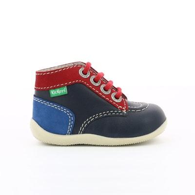 89afc3f5e67c5 Boots cuir Bonbon Boots cuir Bonbon KICKERS