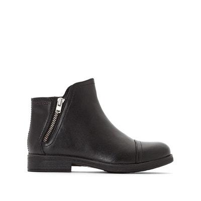 3e8598cc312c5 Boots cuir JR Agata Boots cuir JR Agata GEOX