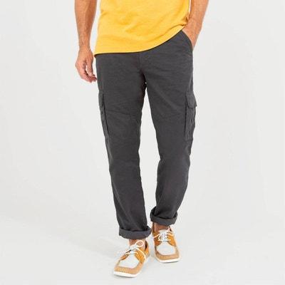 Pantalon en polyester Homme Rouge