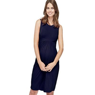 0d5726439c Robe de grossesse sans manche ISABELLA OLIVER