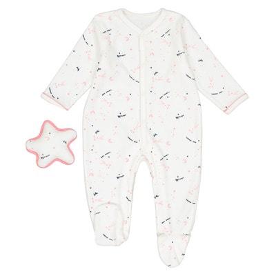 86eb9885aa2f3 Pyjama + doudou étoile naissance Préma - 2 ans Pyjama + doudou étoile  naissance Préma -