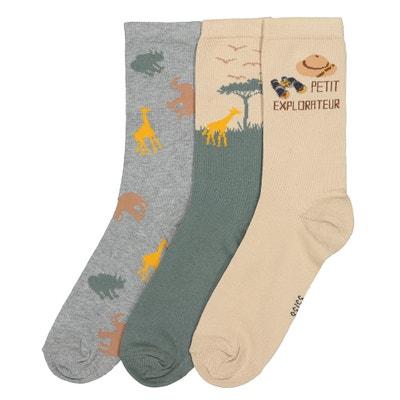 28162310f30 Lot de 3 paires de chaussettes 23 26-35 38 Lot de 3. LA REDOUTE COLLECTIONS.  Lot de 3 paires ...