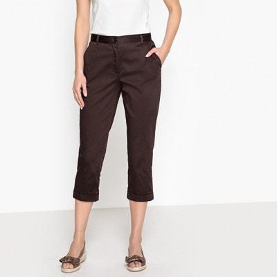 Pantaloni a pinocchietto, in satin di cotone stretch Pantaloni a pinocchietto, in satin di cotone stretch ANNE WEYBURN