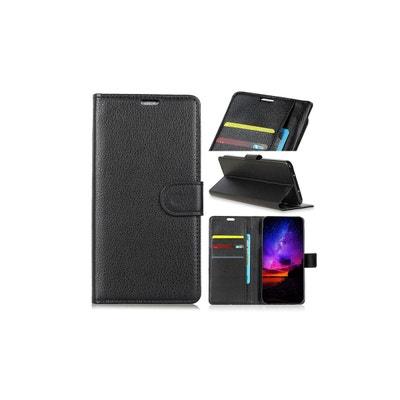 Housse Sony Xperia Xa3 Ultra Portefeuille Grainé AMAHOUSSE 9b3fe6a0e66