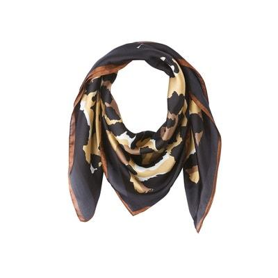 fa669a2b10d7c Petit foulard carré imprimé léopard Petit foulard carré imprimé léopard LA  REDOUTE COLLECTIONS