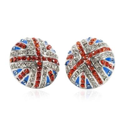 5ccab6945cec5 Boucles d oreilles drapeau anglais
