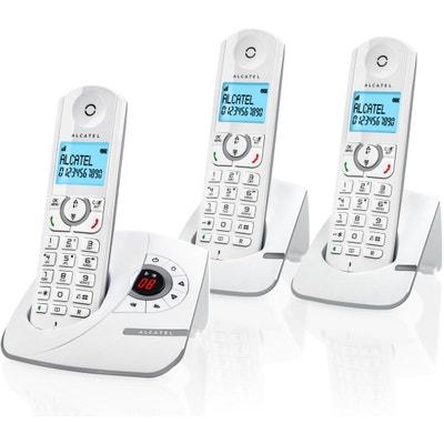 telephone fixe trio sans repondeur la redoute