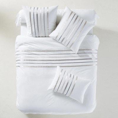 Cinta White Grey Duvet Cover LA REDOUTE INTERIEURS 77fbc9c09