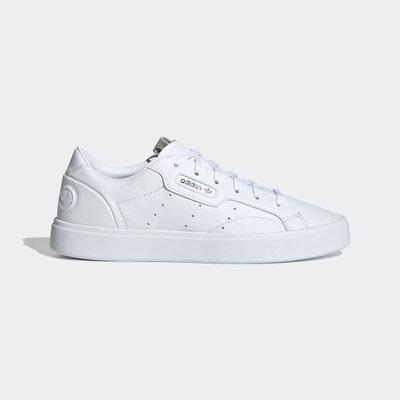 adidas sleek femme blanche