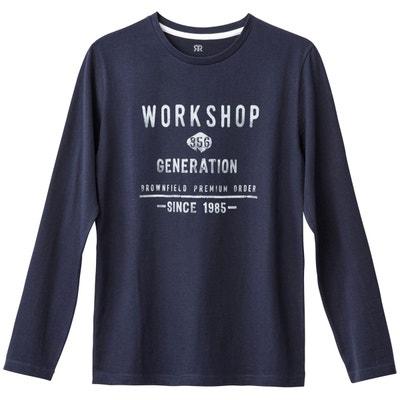 d9413819596d5 T-shirt manches longues 10-16 ans T-shirt manches longues 10-