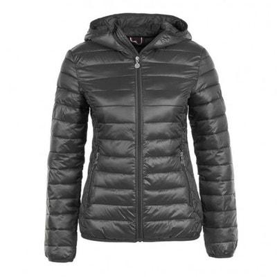 manteau femme chaud gris la redoute