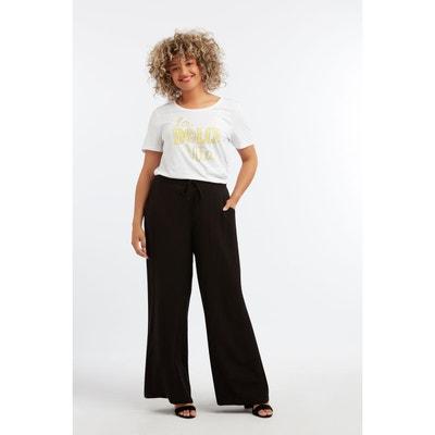 11adc44916e Pantalon large Pantalon large MS MODE