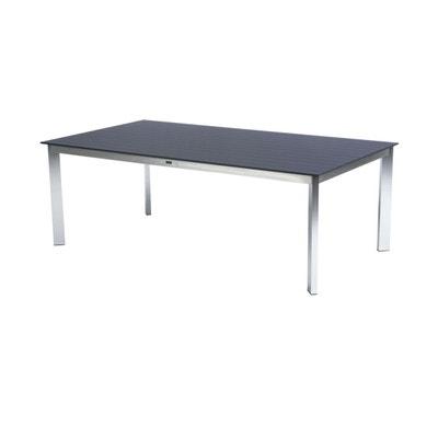 Table de jardin gris anthracite   La Redoute