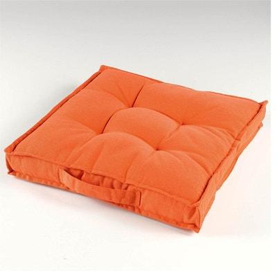 coussin de sol orange la redoute. Black Bedroom Furniture Sets. Home Design Ideas