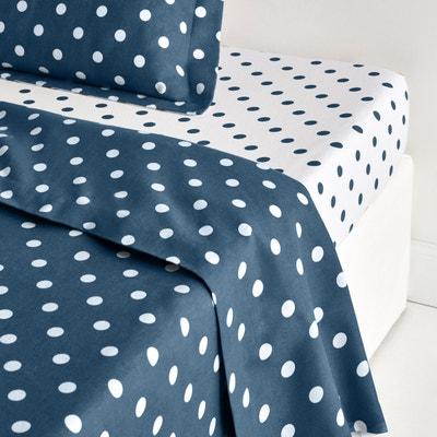 drap plat blanc la redoute. Black Bedroom Furniture Sets. Home Design Ideas