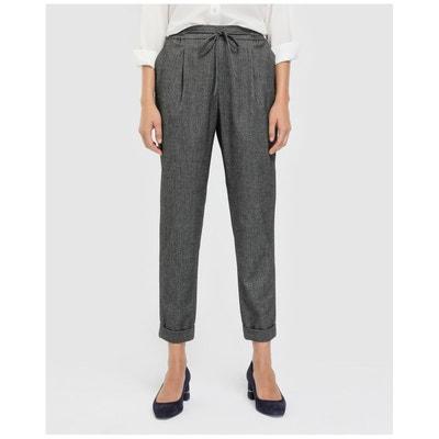 La Redoute Pantalon En Fluide Solde Femme xnRRzq1
