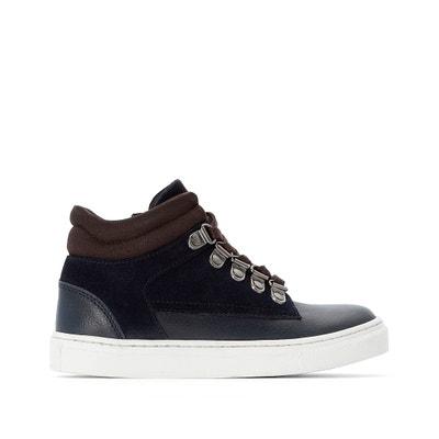Sneakers in leer met veters, mountain stijl 26-39 Sneakers in leer met veters, mountain stijl 26-39 LA REDOUTE COLLECTIONS