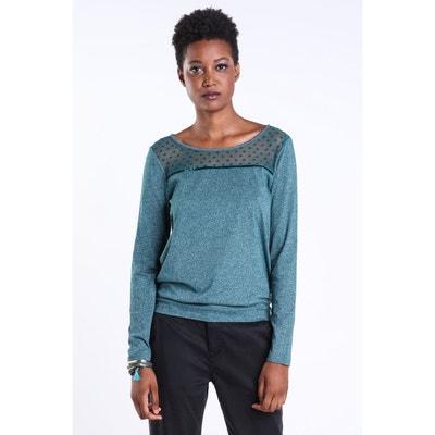 899ba0645a T-shirt bi-matière plumetis BONOBO