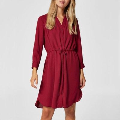 a04004b31618e Robe chemise ceinturée