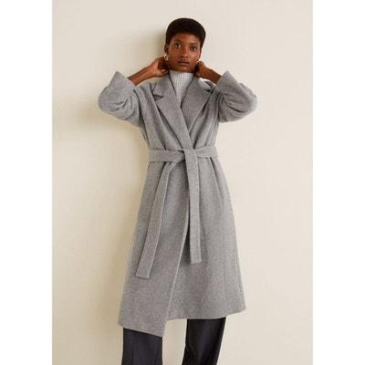 Manteau en laine avec ceinture Manteau en laine avec ceinture MANGO 792a8da89b0