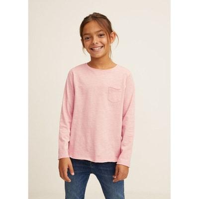 5a9193041849d T-shirt coton poche T-shirt coton poche MANGO KIDS