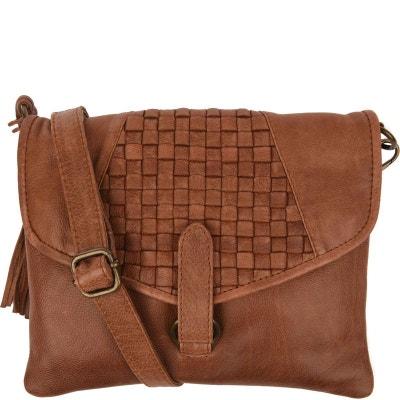 0350a3d26893d Petit sac CROSSOVER en cuir tressé Petit sac CROSSOVER en cuir tressé  LOXWOOD