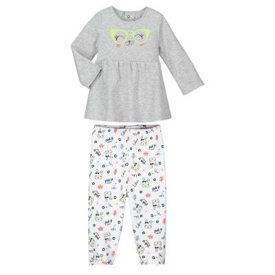 e047177e72e82 Pyjama bébé fille 2 pièces Mini Girl PETIT BEGUIN