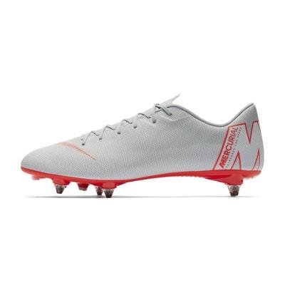 big sale 3fde6 07bb2 Chaussures football Nike Mercurial Vapor XII Academy SG-PRO Gris NIKE