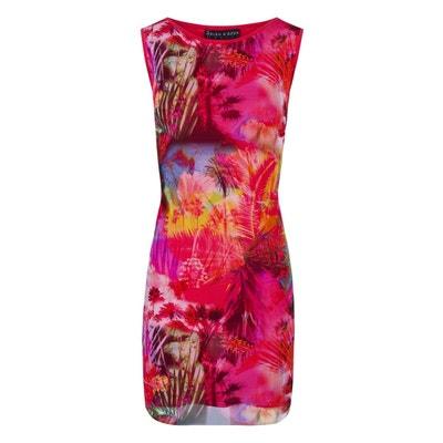 7510ea3e956 Robe Droite Femme Resille Chic Rose Imprime Marina Robe Droite Femme  Resille Chic Rose Imprime Marina. BLEU D AZUR