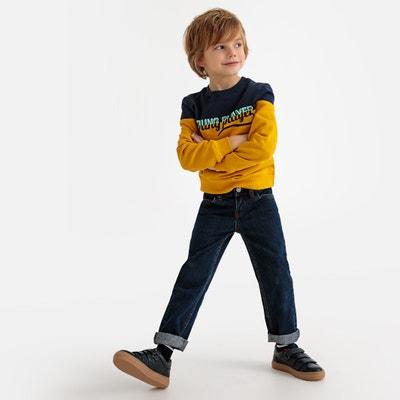 Rechte jeans 3-12 jaar Rechte jeans 3-12 jaar LA REDOUTE COLLECTIONS