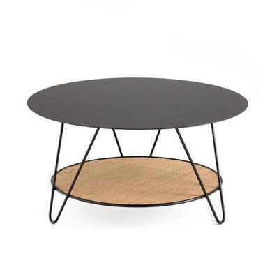 Table Basse Rotin Ronde La Redoute