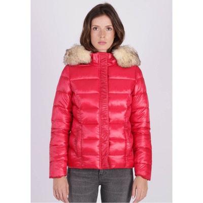 uk cheap sale best online multiple colors Doudoune rouge fourrure | La Redoute