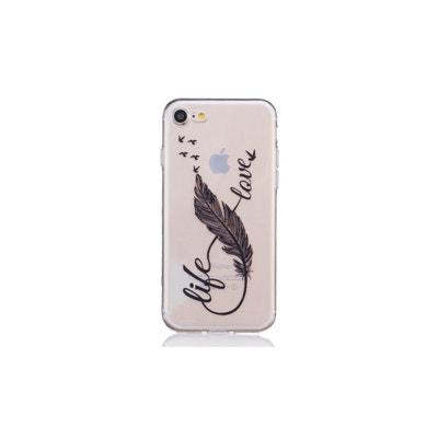 coque iphone xr motif transparente animaux