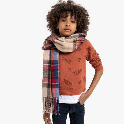 Sweater met ronde hals en tekst 3-12 jaar Sweater met ronde hals en tekst 3-12 jaar LA REDOUTE COLLECTIONS
