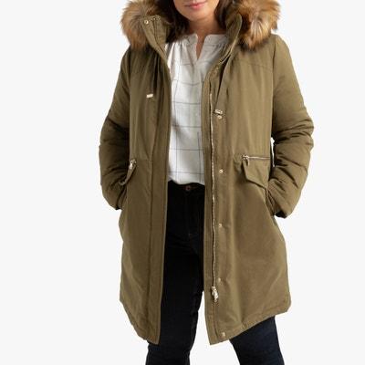Manteau matelasse femme beige