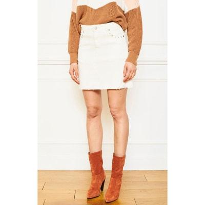 chaussures de séparation 8d634 48421 Jupe courte blanche femme   La Redoute